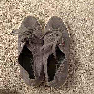 Superga grey sneakers lightly worn 37